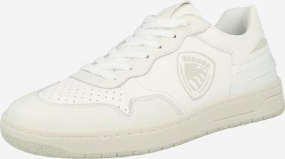Sneaker low 'DAYTON' Blauer.USA pe alb, Vizualizare produs