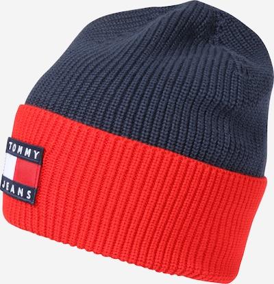 Tommy Jeans Mütze 'HERITAGE' in dunkelblau / rot / weiß, Produktansicht