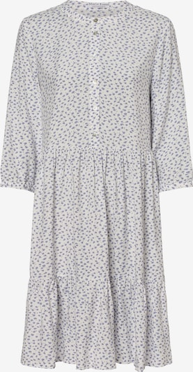 Marie Lund Kleid in hellblau / dunkelgelb / weiß, Produktansicht