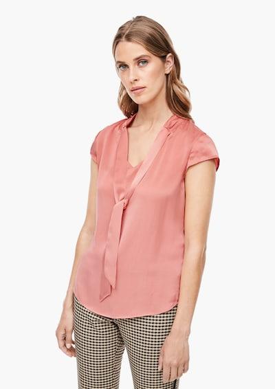 s.Oliver BLACK LABEL Bluse in rosé, Modelansicht
