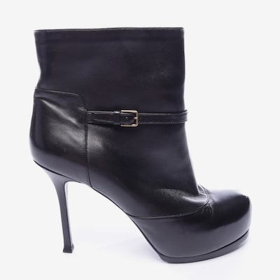 YVES SAINT LAURENT Dress Boots in 40 in Black, Item view