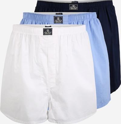 POLO RALPH LAUREN Boxers en bleu / blanc, Vue avec produit