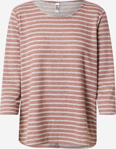 JDY Shirt 'ELIN TREATS ' in mottled grey / Dusky pink, Item view