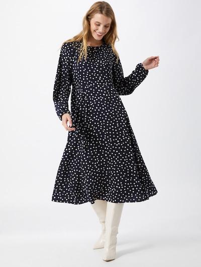 Suknelė iš s.Oliver , spalva - tamsiai mėlyna / balta, Modelio vaizdas