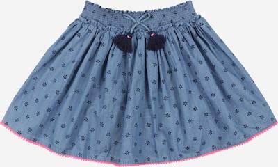 STACCATO Rok in de kleur Blauw / Duifblauw / Pink, Productweergave