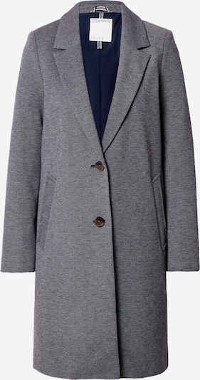 ESPRIT Between-seasons coat in Navy / White, Item view