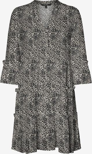 VERO MODA Kleid 'Simply' in grau / schwarz, Produktansicht