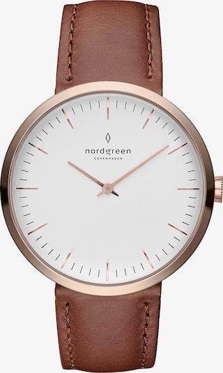 Nordgreen Nordgreen Damen-Uhren Analog Quarz ' ' in braun / rosegold, Produktansicht