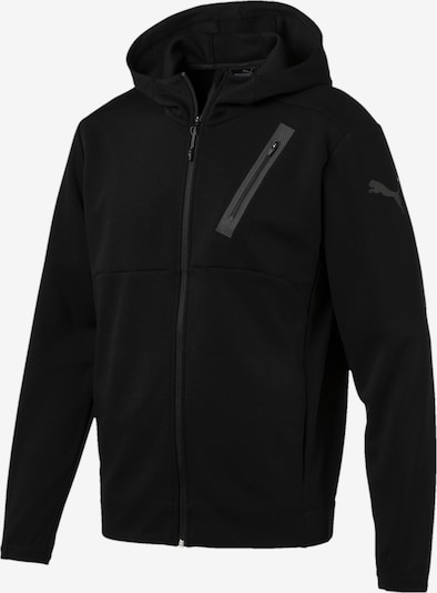 PUMA Active Training Bonded Tech Jacke in schwarz, Produktansicht