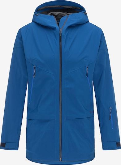 PYUA Outdoorjas 'Vertical' in de kleur Blauw, Productweergave