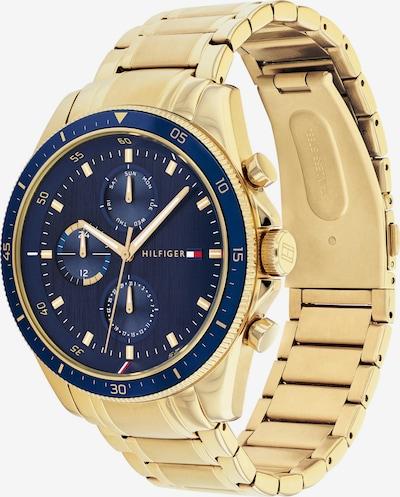 TOMMY HILFIGER Uhr in navy / gold, Produktansicht