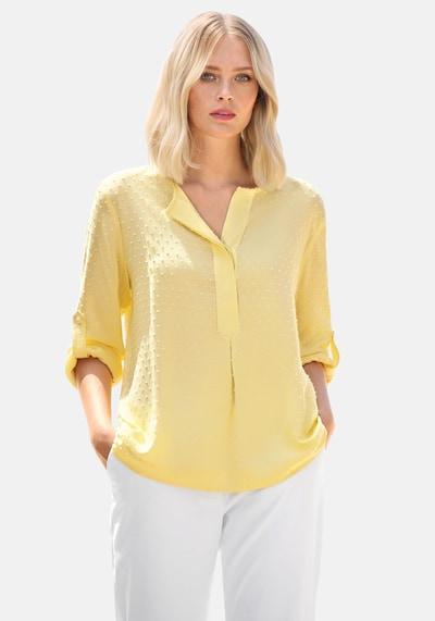 Anna Aura Langarmbluse Bluse in gelb, Modelansicht
