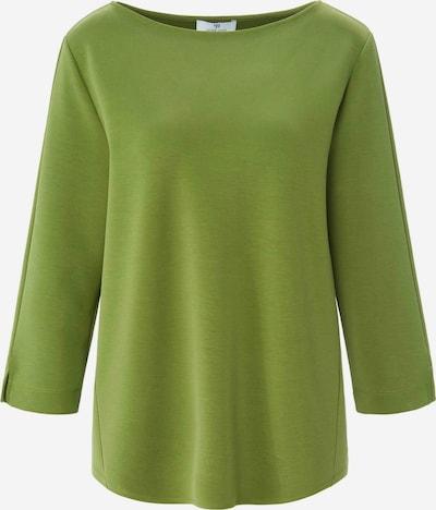Peter Hahn Sweatshirt in grün / oliv, Produktansicht