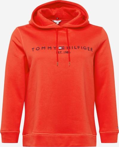 Tommy Hilfiger Curve Sweatshirt in navy / hellrot / weiß, Produktansicht