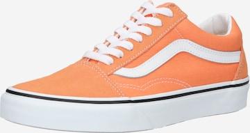 Baskets basses 'Old Skool' VANS en orange