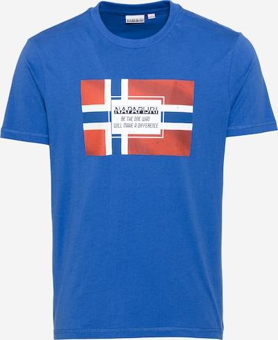 NAPAPIJRI Shirt 'SERA' in navy / blaumeliert / melone / schwarz / weiß, Produktansicht