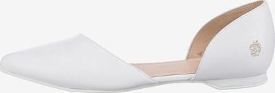 Apple of Eden Ballet Flats in White, Item view