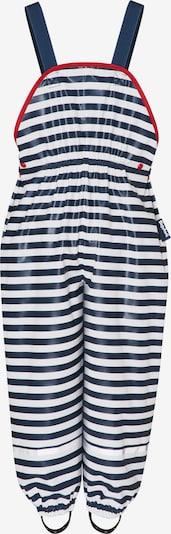 PLAYSHOES Pantalon fonctionnel 'Maritim' en marine / rouge / blanc, Vue avec produit