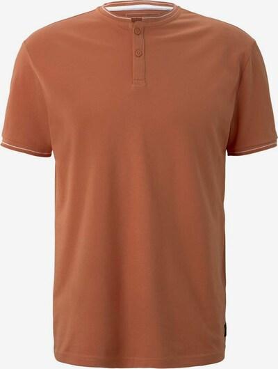TOM TAILOR DENIM Poloshirt in orange, Produktansicht
