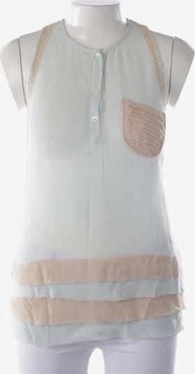 PATRIZIA PEPE Top in M in beige / hellblau, Produktansicht