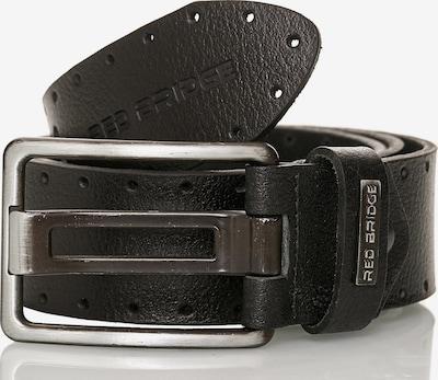 Redbridge Ledergürtel 'San Bernardino' in schwarz, Produktansicht