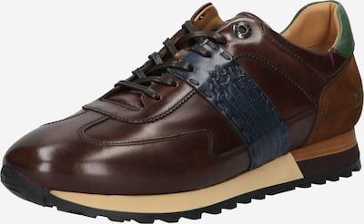 Sneaker bassa 'JARNO' La Martina di colore blu scuro / cioccolato / marrone scuro / verde, Visualizzazione prodotti
