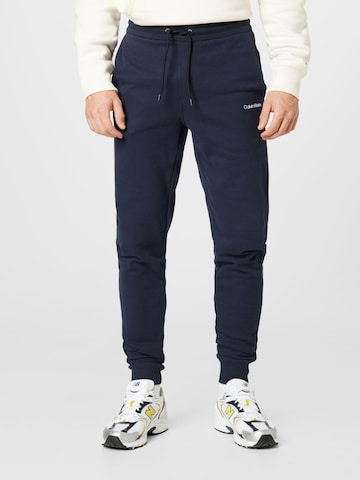 Calvin Klein Püksid, värv sinine