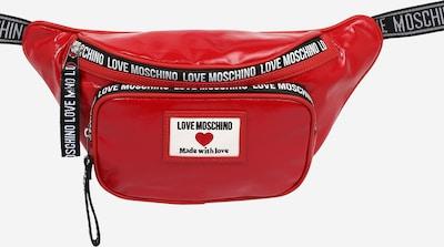 Love Moschino Gürteltasche in rot / schwarz / weiß, Produktansicht