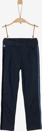 s.Oliver Sweathose in blau / dunkelblau / weiß, Produktansicht