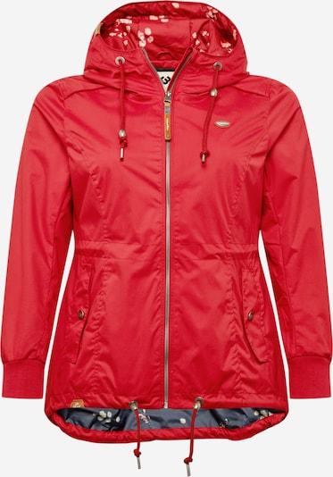 Ragwear Plus Between-season jacket 'DANKA' in Red, Item view