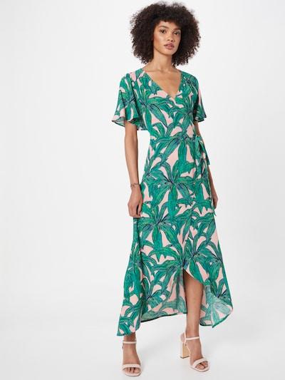 Rochie 'Archana' Fabienne Chapot pe verde / mov deschis / roz pal / negru, Vizualizare model