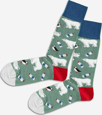 DillySocks Socken ' Winter Climate' in mischfarben, Produktansicht