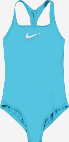 NIKE Sportbadeanzug in Blau