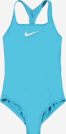 NIKE Sportbadeanzug in türkis / weiß, Produktansicht