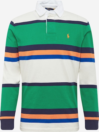 POLO RALPH LAUREN T-Krekls tumši zils / karaliski zils / zaļš / oranžs / balts, Preces skats