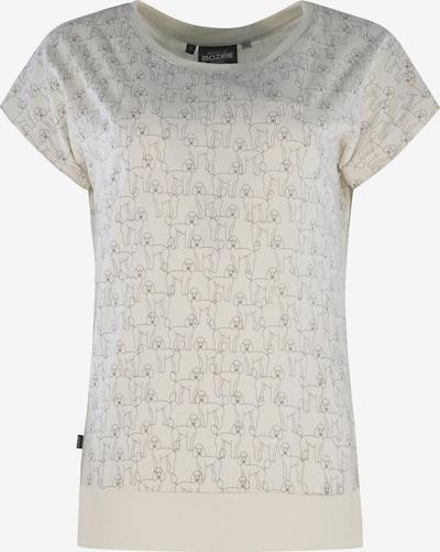 mazine T-Shirt ' Derry T ' in offwhite, Produktansicht