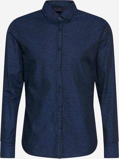 BOSS Casual Chemise 'Mabsoot' en bleu clair / bleu foncé, Vue avec produit