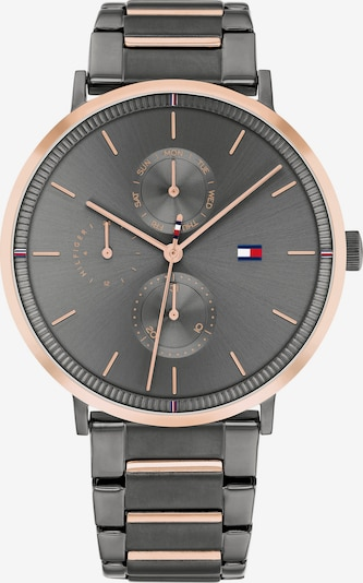 TOMMY HILFIGER Analog watch in Rose gold / Anthracite, Item view