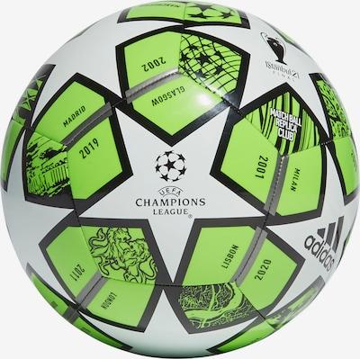 ADIDAS PERFORMANCE Fußball in grau / grün / schwarz, Produktansicht