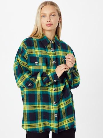 Camicia da donna 'CHECK' di River Island in giallo