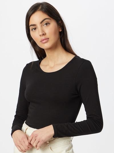 ABOUT YOU Majica 'Lacey '   črna barva: Frontalni pogled
