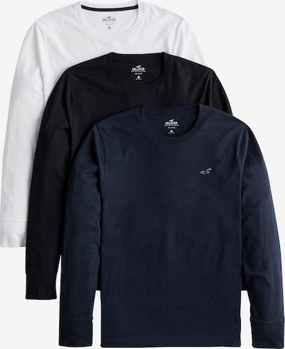 HOLLISTER T-Shirt 'VNECK MULTI' en bleu / noir / blanc, Vue avec produit
