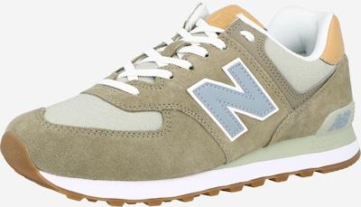 new balance Sneakers laag '574' in de kleur Smoky blue / Brokaat / Honing / Olijfgroen / Mintgroen, Productweergave