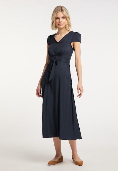 Usha Blusenkleid in marine, Modelansicht