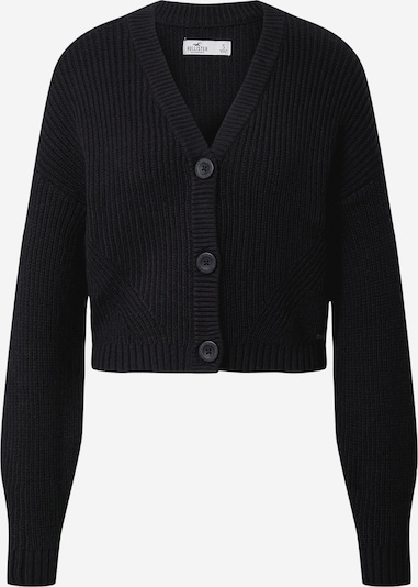 HOLLISTER Плетена жилетка в черно, Преглед на продукта