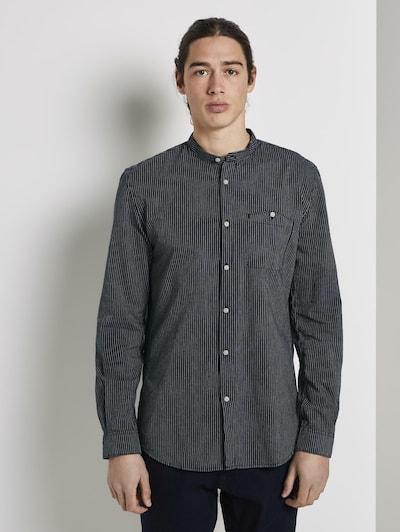 Dalykiniai marškiniai iš TOM TAILOR DENIM , spalva - tamsiai mėlyna, Modelio vaizdas