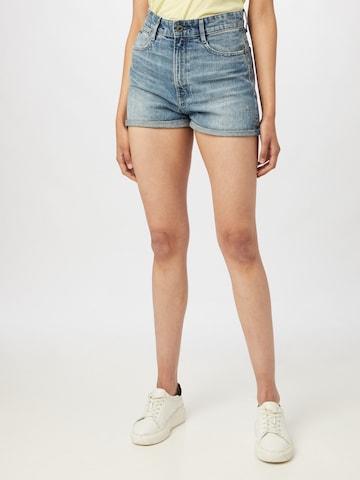 G-Star RAW Jeans 'Tedie Ultra High' in Blue