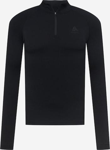 melns ODLO Sporta krekls