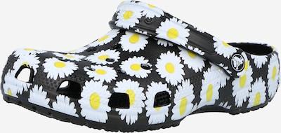 Crocs Clogs 'Vacay Vibes' in limone / schwarz / weiß, Produktansicht