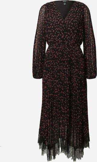DKNY Robe de cocktail en rouge / noir / blanc, Vue avec produit